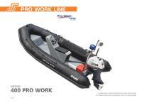 Fibreglass boat Pro Fish Line, Pro Work Line - 10