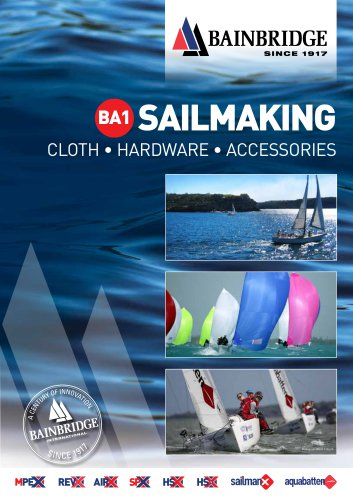 BA1 Sailmaking Catalogue