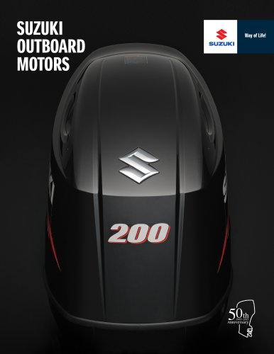2015 Suzuki Outboard Motors Catalog