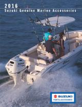 2016 SUZUKI MARINE ACCESSORIES CATALOG