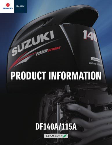 Suzuki DF150/175 Brochure