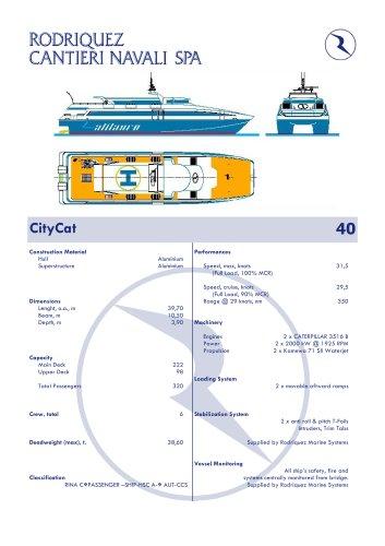 CITYCAT 40