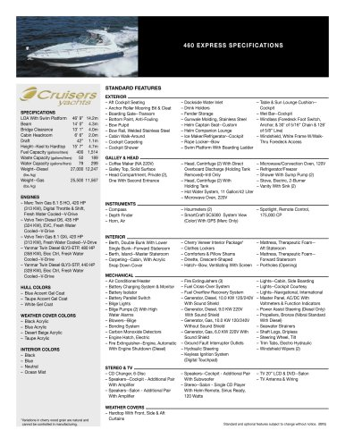 cruisers yachts wiring diagram 460 express cruisers pdf catalogs documentation boating  460 express cruisers pdf catalogs