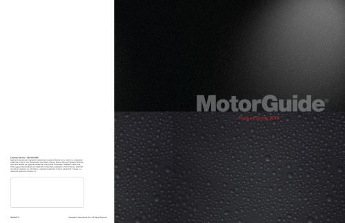MotorGuide product guide 2014