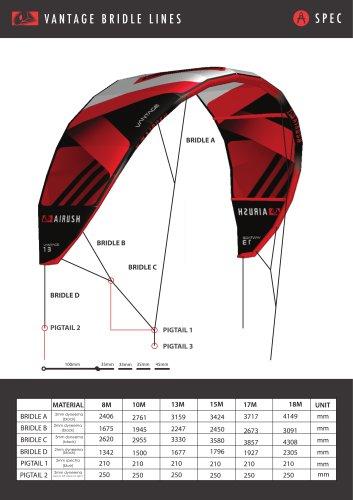 2015 VANTAGE BRIDLE LINE SPEC