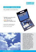 AEROTEST SIMULTAN HP ? The portable air test laboratory