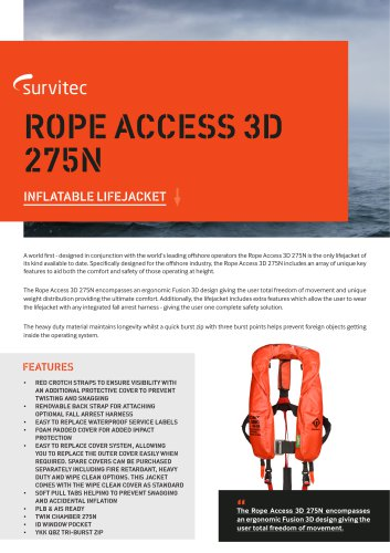 ROPE ACCESS 3D 275N
