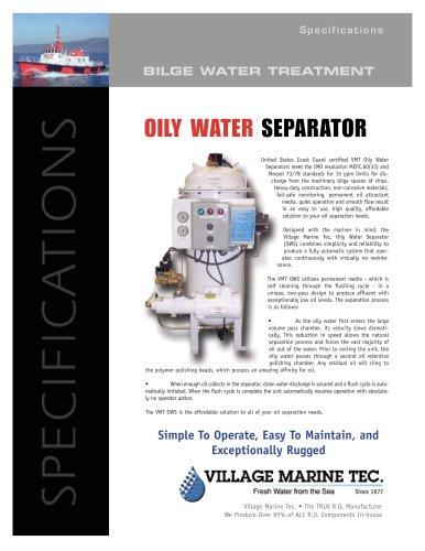 BILGE WATER TREATMENT