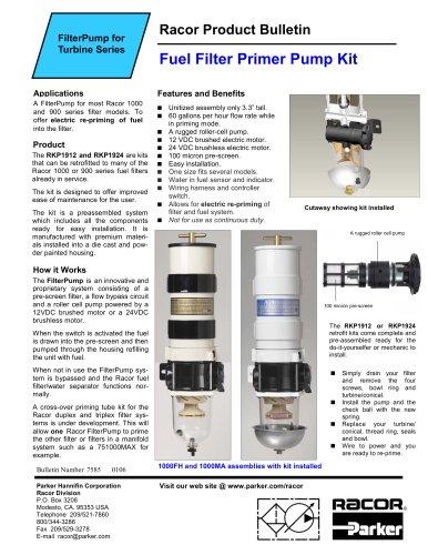 FilterPump Brochure