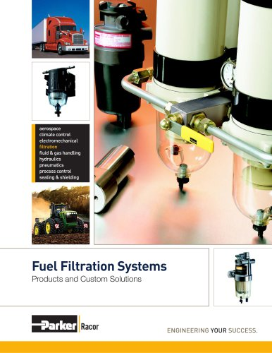Racor 7529 Brochure - Racor Fuel Filtration Products