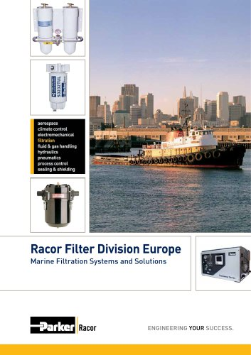 Racor Filter Division Europe Marine Filtration Systems and Solutions