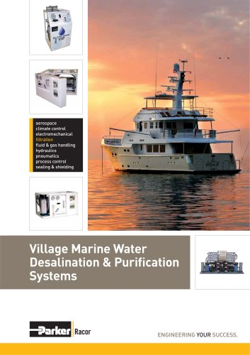 Racor Village Marine Desalination and Water Making Systems
