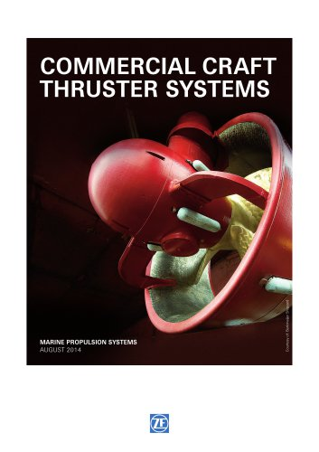 commercial craft thruster systems