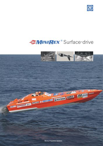 MiniRex Surface-drive