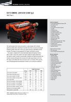 DI13 080M. 249 kW (338 hp)