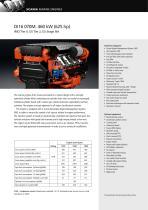 DI16 070M. 460 kW (625 hp)