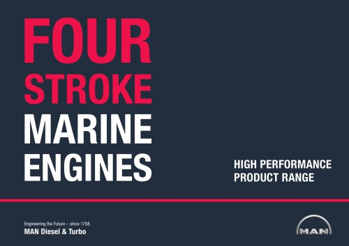 Four-Stroke Marine Engines