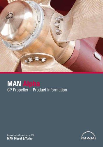 MAN Alpha CP Propellers Mk 3