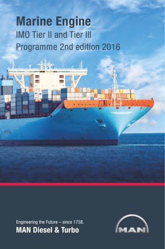 Marine Engine IMO Tier ll and Tier lll Programme 2nd edition 2016