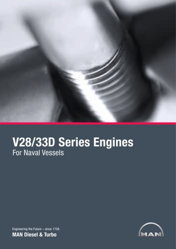 V28/33D Series Engines For Naval Vessels