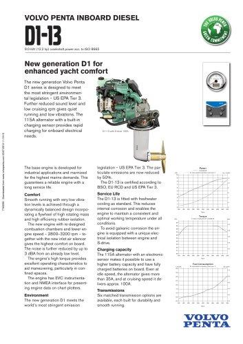 D13 - Volvo Penta - PDF Catalogs | Documentation | Boating Brochures