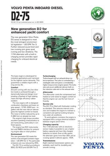 Product bulletin D2-75