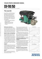 Product bulletin D3-110-150