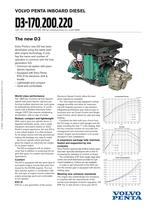 Product bulletin D3-170-200-220