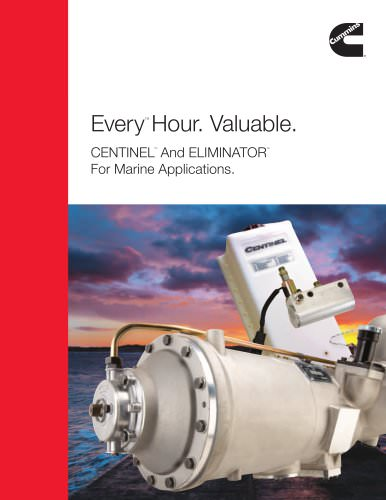 CENTINELTM And ELIMINATORTM For Marine Applications.