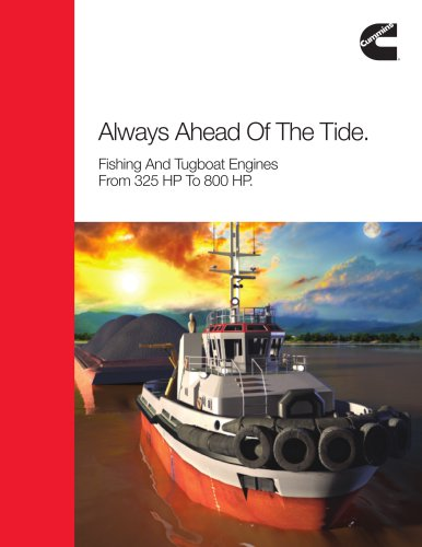 Commercial Marine Fishing And Tugboat Engines From 325 HP To 800 HP