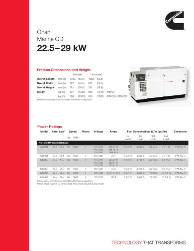 MDKDT/U/S 22.5/27/29 kW