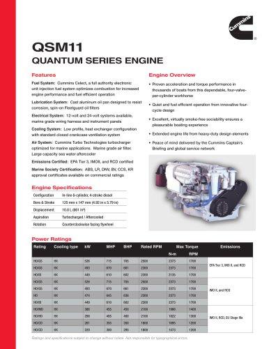 QSM11 Quantum Series Engine - mins Marine - PDF Catalogs ... on