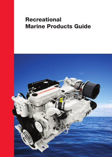 Recreational Marine Products Guide
