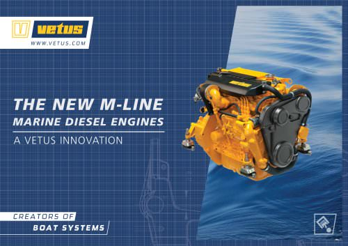 M-line marine diesel engines