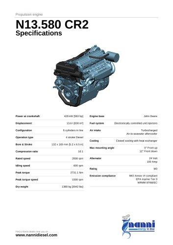 N13.580 CR2