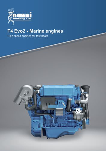 T4 Evo2 - Marine engines