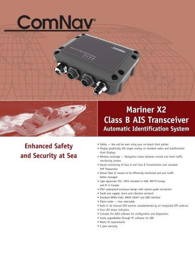 Mariner X2 Class B AIS Transceiver