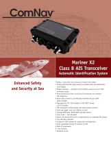 Mariner X2 Class B AIS Transceiver Automatic Identification System - 1