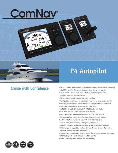 P4 Autopilot P4 Autopilot yacht