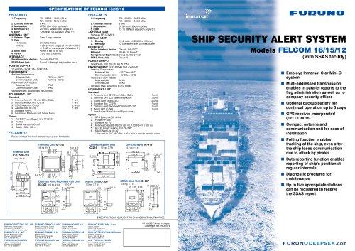 SSAS - Furuno - PDF Catalogs | Documentation | Boating Brochures