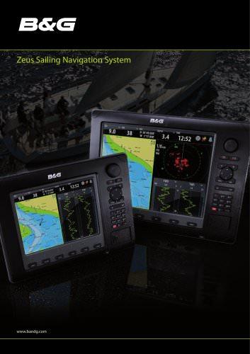 B&G Zeus Sailing Navigation System Brochure