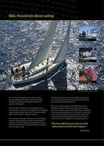 B&G Zeus Sailing Navigation System Brochure - 2
