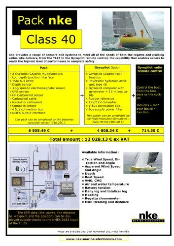 Pack Class40 nke 2011