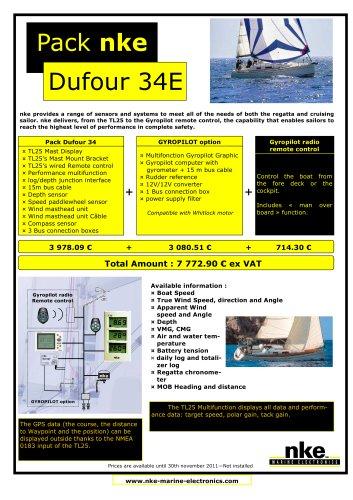 Packs Dufour nke 2011