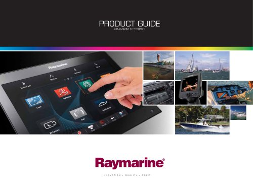 Raymarine Product Guide 2014