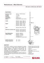 ELNA - HF Mast Antennas