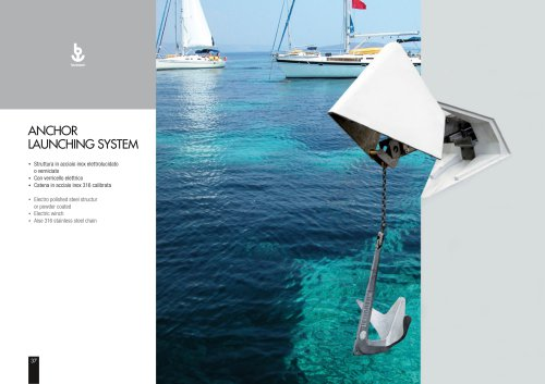 Besenzoni Custom Anchor Launching System