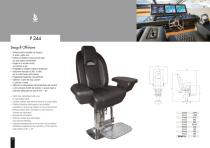 Besenzoni Helm Seat P 244 Seagull Offshore