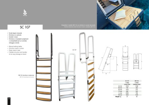 Besenzoni Ladder SC 107