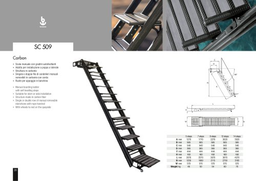 Besenzoni Ladder SC 509